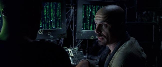 The Matrix: Ich sehe den Code gar nicht