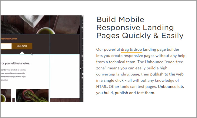 Unbounce Mobile Responsive Landing Page