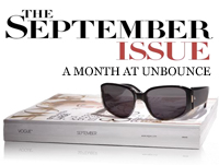 Take a peek inside Unbounce's Greatest Hits for September. (Image source: Vogue Magazine)