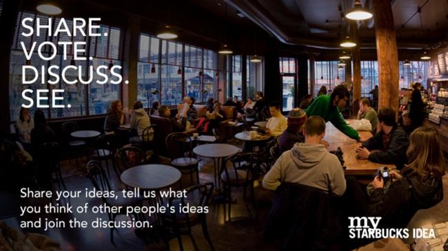 Starbucks und Social Media