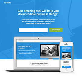 Webinar Landing Page Templates By Unbounce