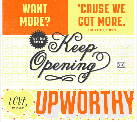 Upworthy email signature example
