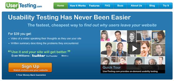 User Testing User Feedback Tool