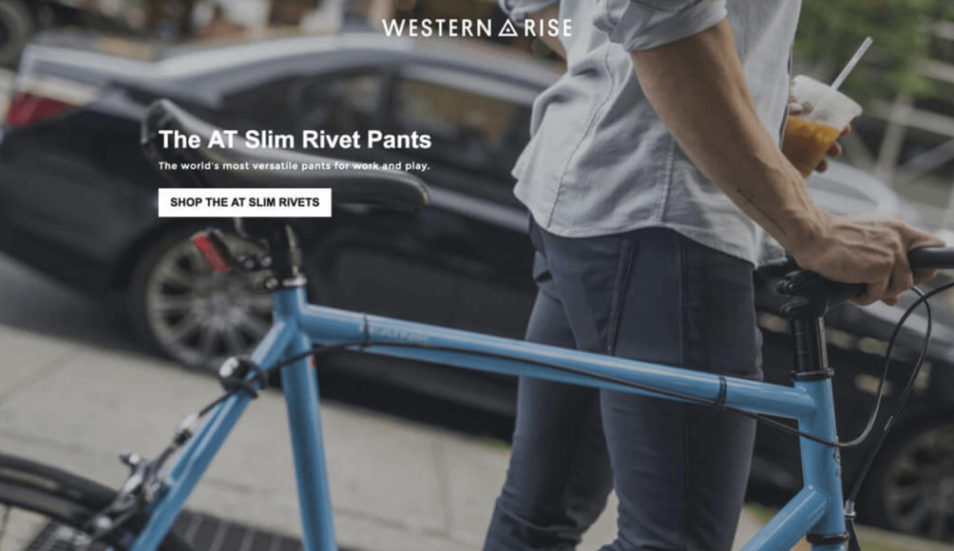 Landing Page Headlines - Western Rise