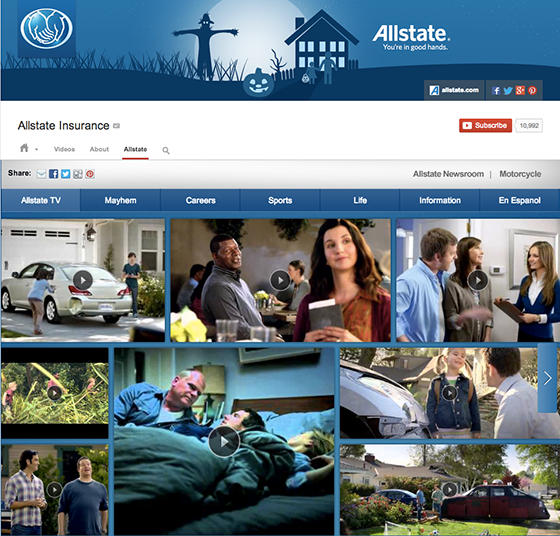 youtube allstate