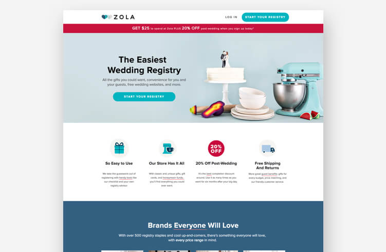 The Best Landing Page Design Examples To Inspire Your Next Layout 268c054f223